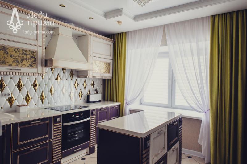 Шторы на кухню фото челябинск