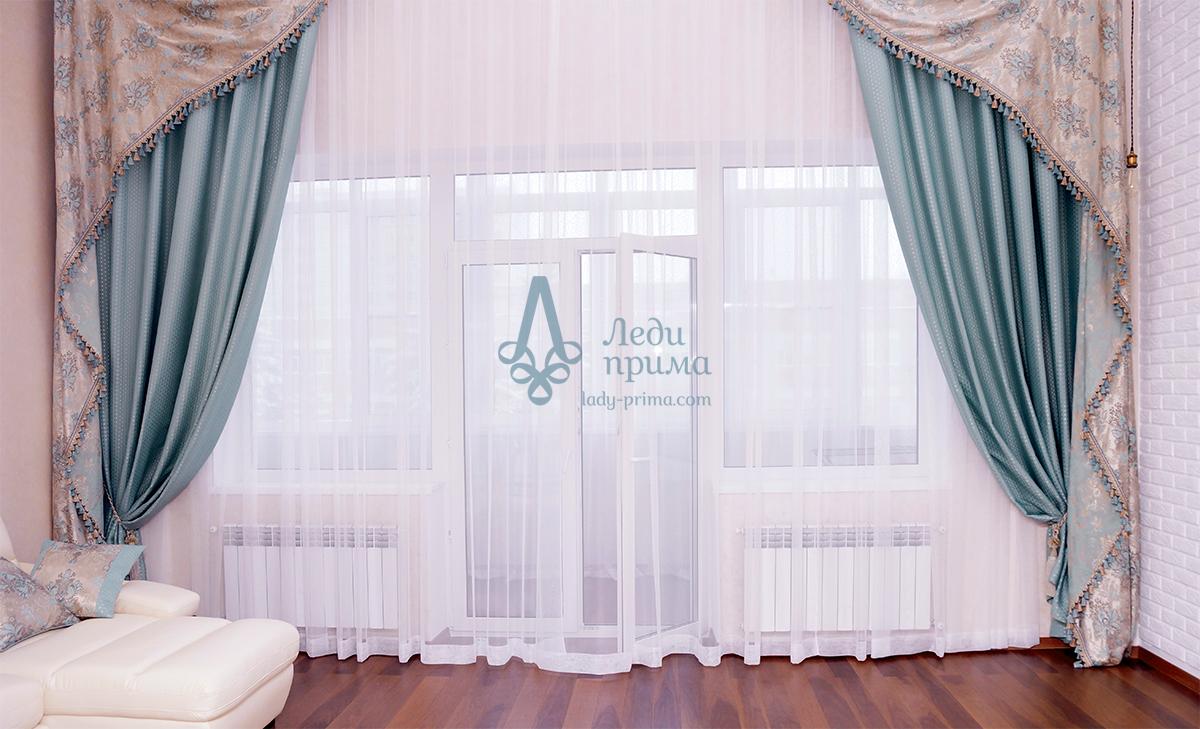 Дизайнерские шторы в астане